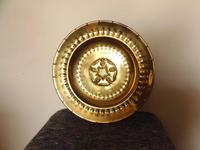 An arts and crafts brass charger (2 of 5)