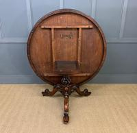 Victorian Round Rosewood Loo Table (5 of 17)