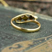 The Antique Art Deco Five Chip Diamond Ring (3 of 4)