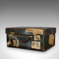 Antique Travel Case, Leather, Salesman's Suitcase, JW Allen, Strand, Edwardian (5 of 12)