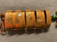 Antique Edo Japanese Inro, Netsuke & Ojime - Kansai and Jokosai (19 of 20)