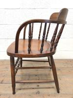 Antique Smoker's Bow Chair (6 of 9)