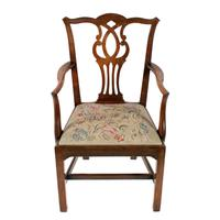18th Century Chippendale Elbow Chair (4 of 8)