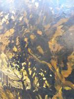 Large oil on canvas The Plantation Brazilian artist Chediac (9 of 10)