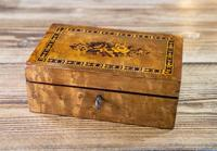 Maple Tunbridge Ware Table Box 1890 (3 of 7)