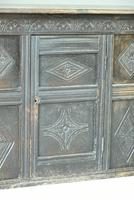 Small Carved Oak Cupboard (2 of 13)