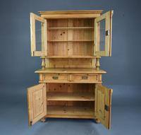 Victorian Pine Glazed Dresser (2 of 4)
