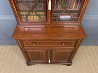 Edwardian Inlaid Mahogany Secretaire Bookcase (7 of 21)