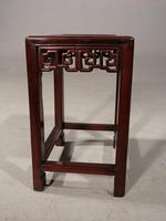 Good Late 19th Century Hardwood Oriental Low Table (2 of 5)