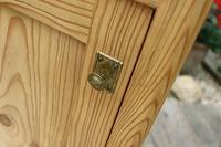 Fantastic & Large Pair of Old Stripped Pine Bedside Cabinets - We Deliver! (5 of 9)