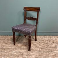 Superb Quality William IV Set of Six Mahogany Antique Dining Chairs (8 of 9)