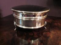 George V Silver & Tortoiseshell Ring Box (4 of 5)