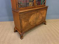 Burr Walnut Bookcase by Jas Shoolbred (13 of 19)