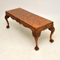 Antique Burr  Walnut Coffee Table (3 of 9)