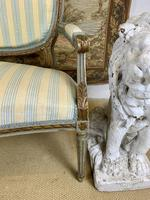 French Gilt Painted Two Seater Settee (6 of 8)