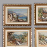 Six 19th Century Watercolours of Italy France and Scotland (3 of 3)