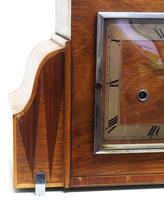 Fine Smiths Art Deco Mantel Clock Triple Chime 8 Day Westminster Chime Mantle Clock (3 of 10)