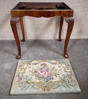 Carved Mahogany Cabriole Leg Stool In The Queen Anne Style (6 of 9)