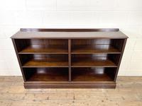 Late 20th Century Mahogany Bookcase (3 of 9)
