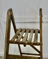 Tall 19th Century Wooden Step Ladder (4 of 7)