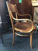 Antique Bentwood Chair J J Kohn Austria Stamped Original Rare Surviving Design (3 of 8)