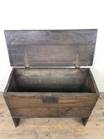 Small 18th Century Joined Oak Coffer (7 of 18)