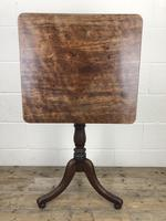 19th Century Mahogany Tilt Top Side Table (2 of 7)