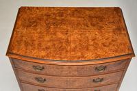 Georgian Style Burr Walnut Chest of Drawers (5 of 12)