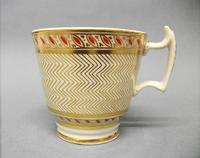 Staffordshire London Shape Coffee Cup & Saucer c.1815-1820 (4 of 6)