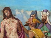 Pair of 19th Century Religious Old Master Oil Paintings - Set of 14 Available (14 of 32)