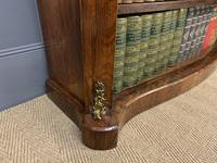 19th Century Rosewood Open Bookcase (8 of 13)