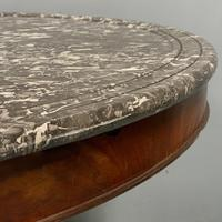 French Empire Gueridon Centre Table with Marble Top (4 of 7)