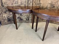 Pair of 19th Century Mahogany Console Tables with Carved Decoration (2 of 8)