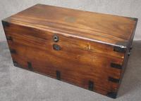 Large 19th Century Camphor Wood Chest V/ Trunk (10 of 11)