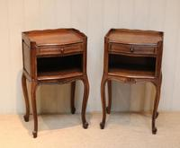 Pair of French Oak Bedside Cabinets (2 of 10)