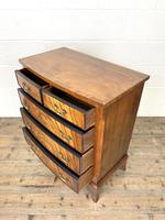 Small 20th Century Walnut Chest of Drawers (9 of 10)
