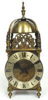 Superb Vintage English 8 Day Lantern Clock - Lever Platform c.1950 Mantel Clock by Rotherham's (4 of 11)
