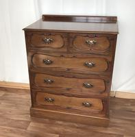 Edwardian Mahogany Chest of Drawers (3 of 13)