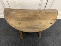 Early Primitive Lamp Table (10 of 10)