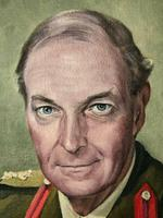 Fine 20th Century Portrait Oil Painting Military Officer British Army 2nd Signal Regiment (11 of 12)