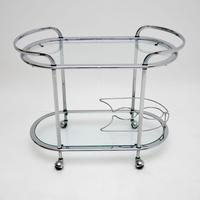 1960's Vintage French Chrome Drinks Trolley (7 of 8)