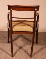 Regency Rosewood Chair Early 19th Century c.1811 (6 of 10)