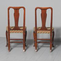 Antique Pair of George II Mahogany Side Chairs (4 of 10)