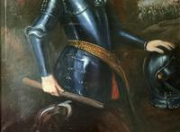 Huge Oil Portrait Painting 'King William III' After Sir Peter Lely (5 of 13)