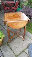 Exceptional 19th Century Marquetry Drop-leaf Centre Table (9 of 9)