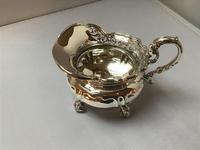 Solid Silver Edwardian Tea Set (4 of 9)
