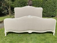 Superkingsize French painted bed (4 of 6)