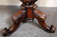 Victorian Rosewood Piano Stool c.1860 (6 of 6)