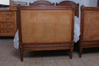 Fabulous Pair of Single Henri II Style Cane & Wood Single Beds (2 of 11)