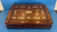 William IV Mother of Pearl Inlaid Lap Desk (4 of 15)